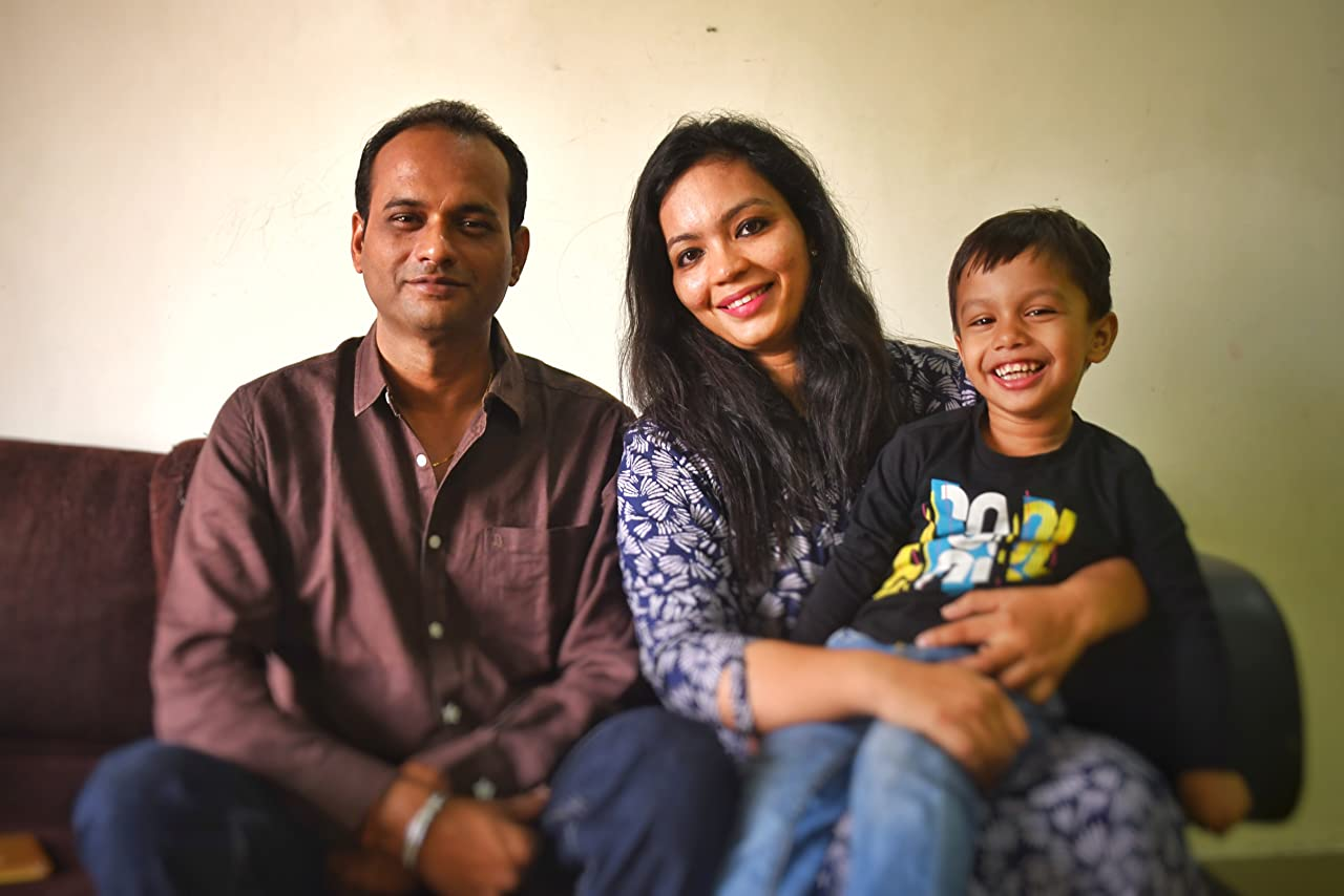 Shilpa and her family from Kota, Rajisthan