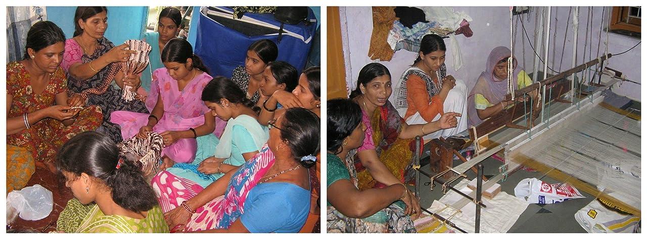 The ladies behind Bombay Haat, Hard at work