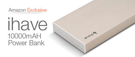 The ihave Power Bank - available only at Amazon.in.
