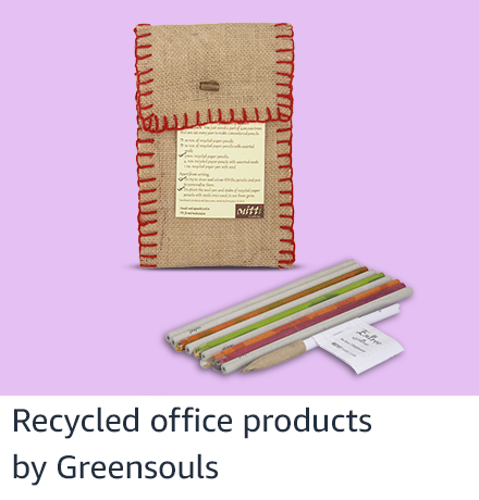 Recycled office products from Greensouls