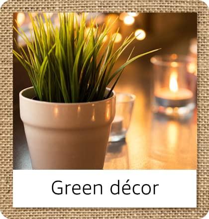 Green décor