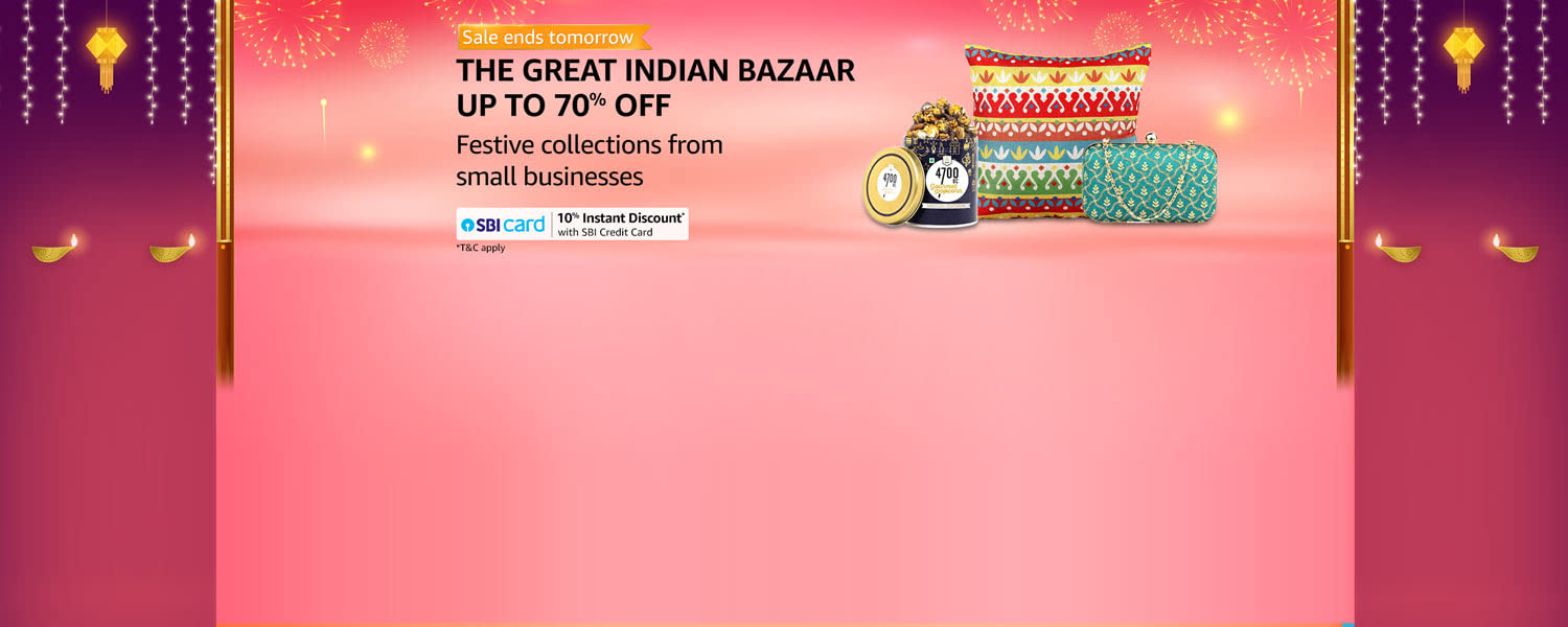 amazon.in - Avail Upto 70% discount on Decor, Sweet, Fashion and more