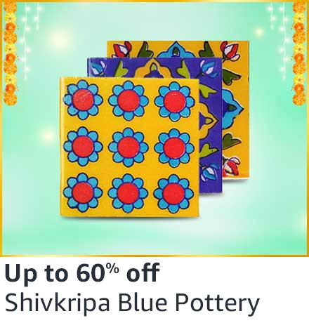 Shivkrupa Blue Pottery