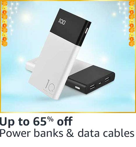 Power banks & data cables