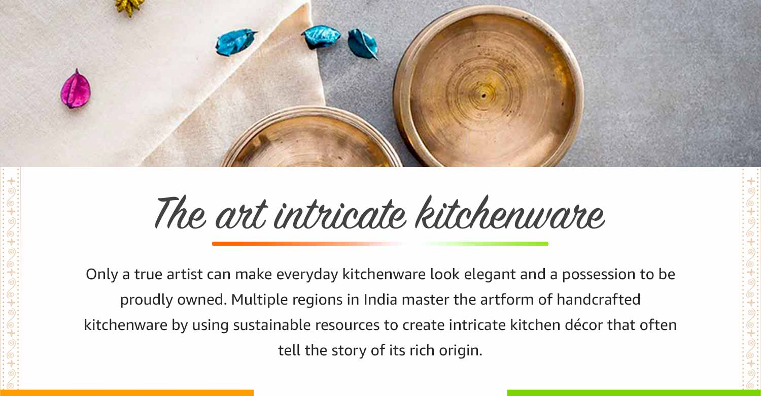 The art of intricate kitchenware