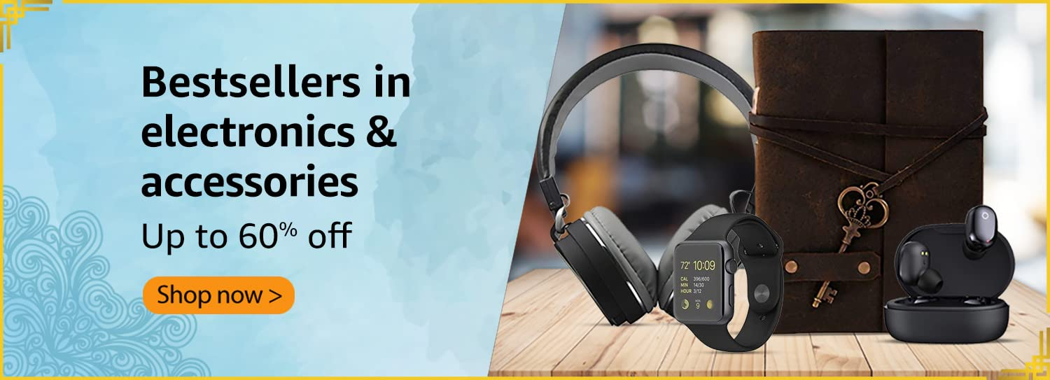 Bestsellers in electronics & accessories