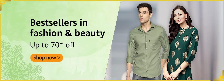 Bestsellers in fashion & beauty