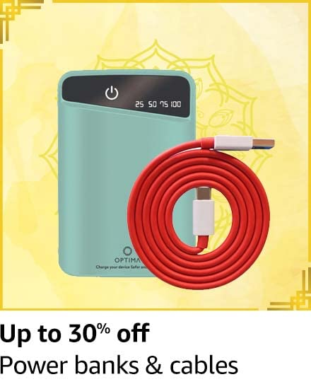 Power banks & cables