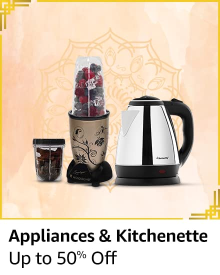 Appliances & kitchenette