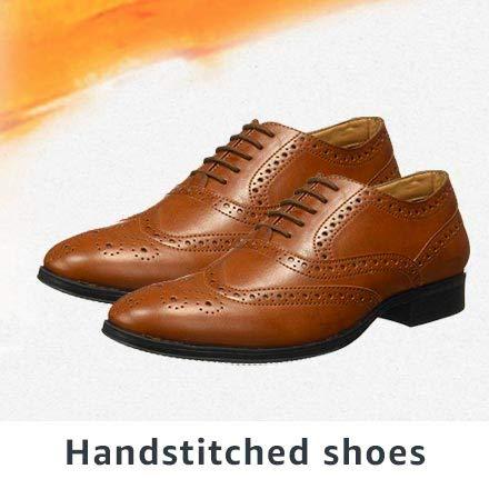 Handstitched shoes