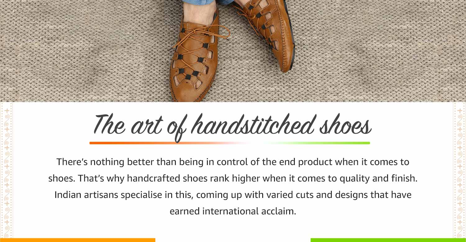 The art of handstitched shoes