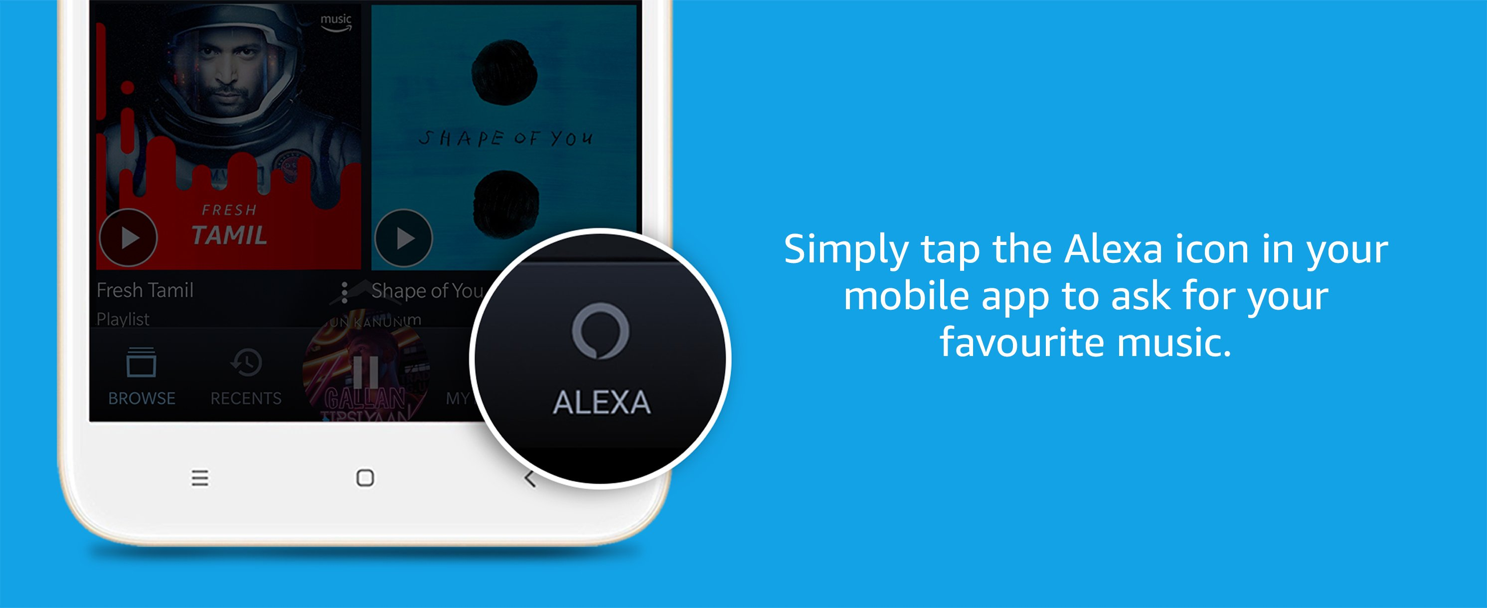 Voice controlled with Alexa