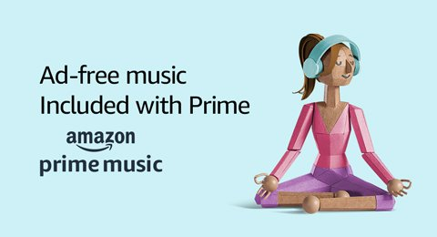 Ad-free music, Included with Prime