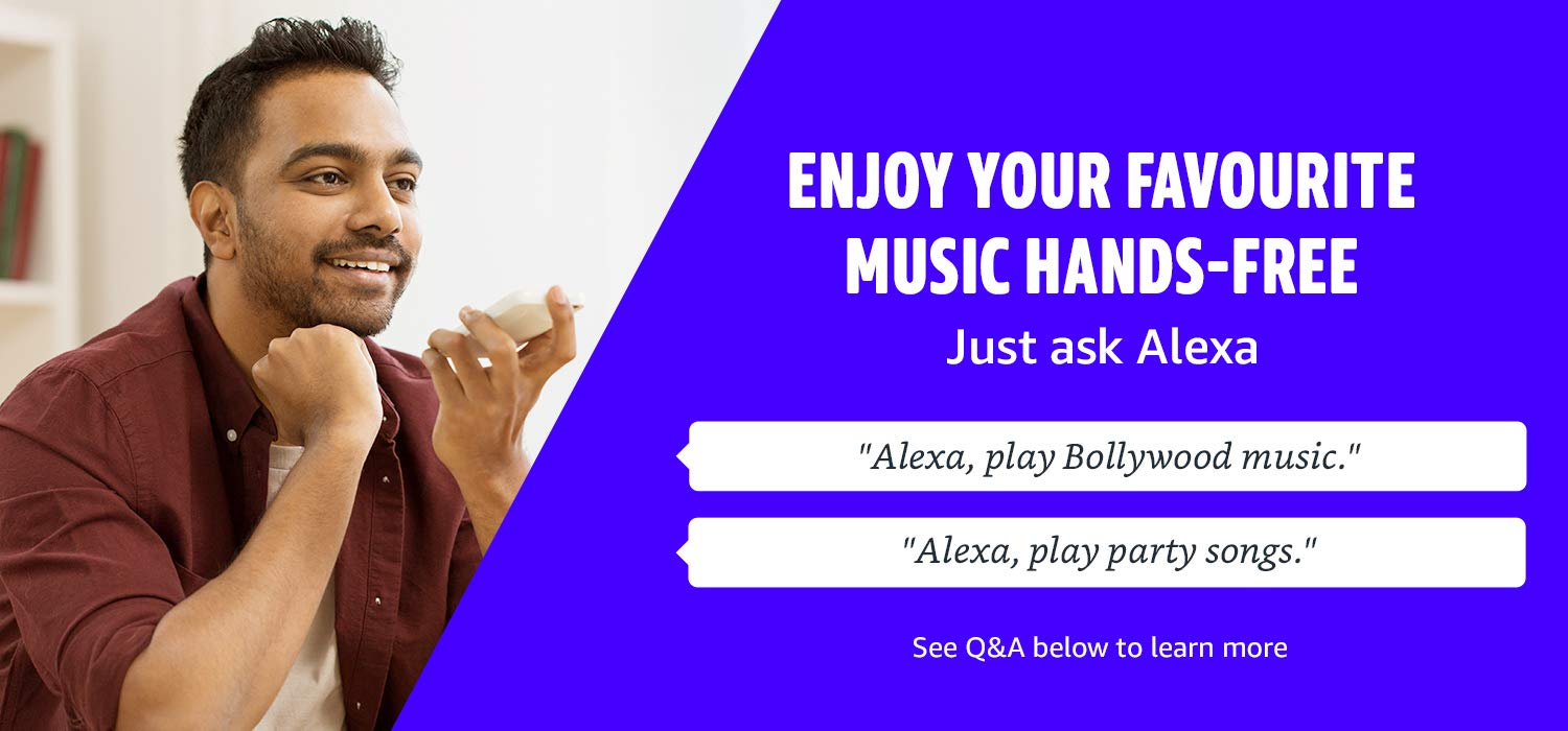 Enjoy your favourite music hands free with Alexa