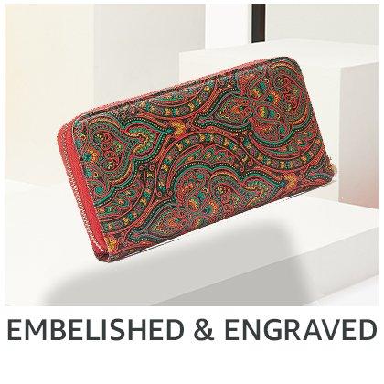 embellished & engraved