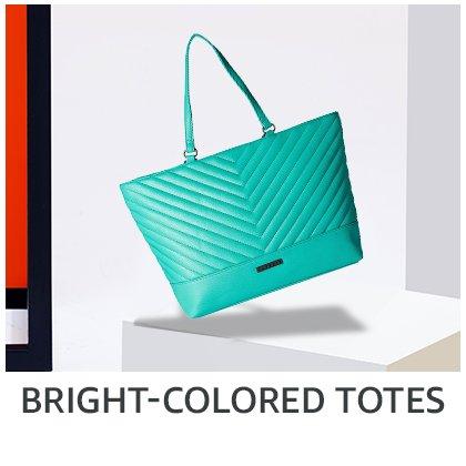 bright colored totes