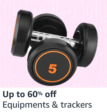 Fitness equipments & trackers