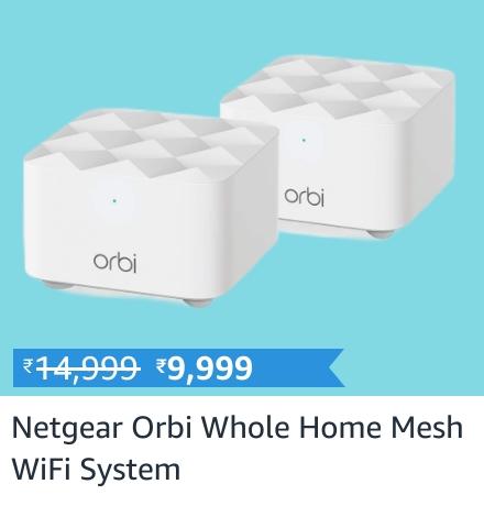 Netgear Orbi mesh system