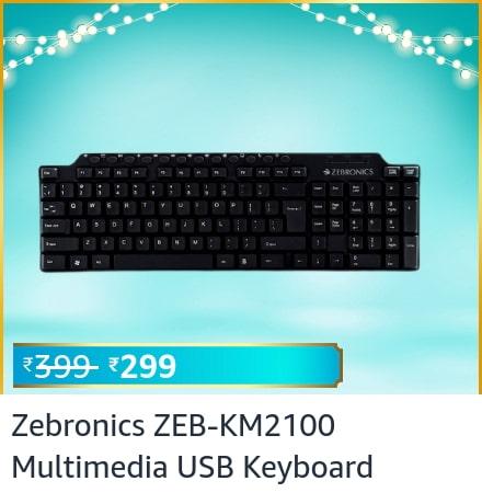 zebronics keyboards