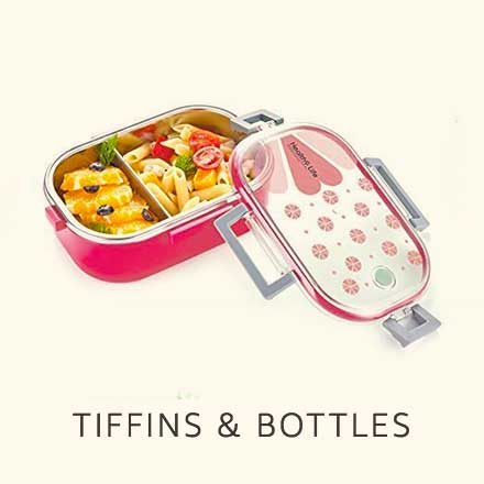 Tiffins and bottles