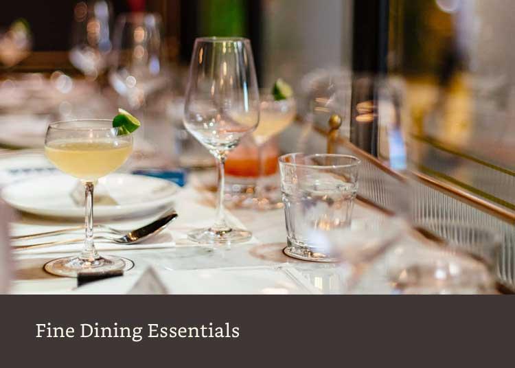 Fine dining essentials