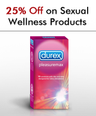 25% off on Sexual Wellness Products