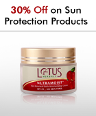 30% off on Sun Protection Products