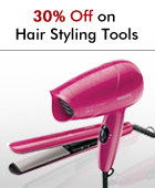 30% off on Hair Styling Tools