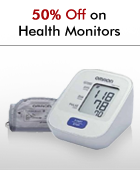 50% off on Health Monitors