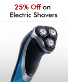 25% off on Electric Shavers
