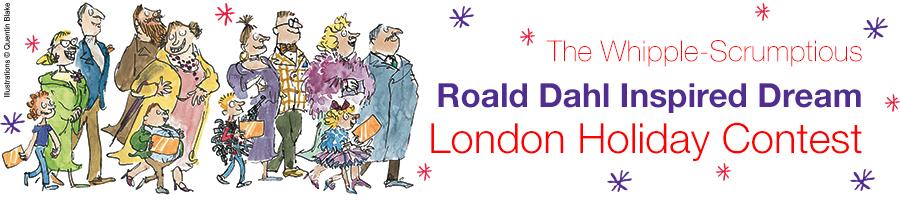 Roald Dahl London Holiday contest
