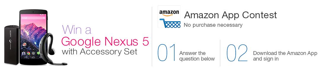 Amazon App Sweepstakes