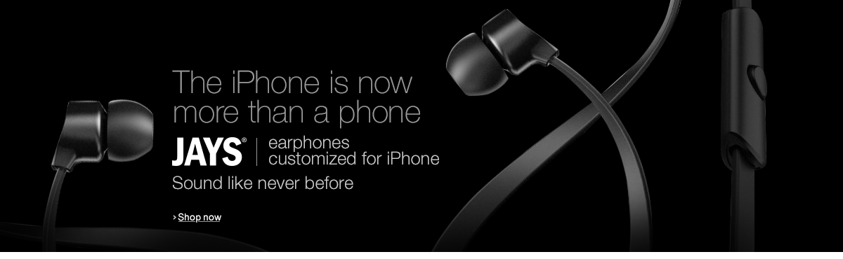 Jays  - Earphones for iPhone