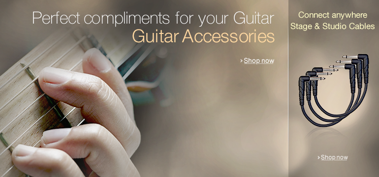 Guitar Accessories & Stage And Studio Cables