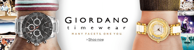 Giordano largest online watch collection