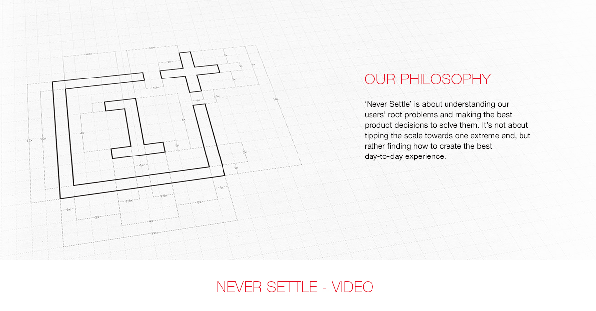 OnePlus Philosophy