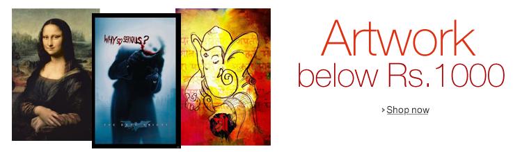 Artworks below Rs.1000