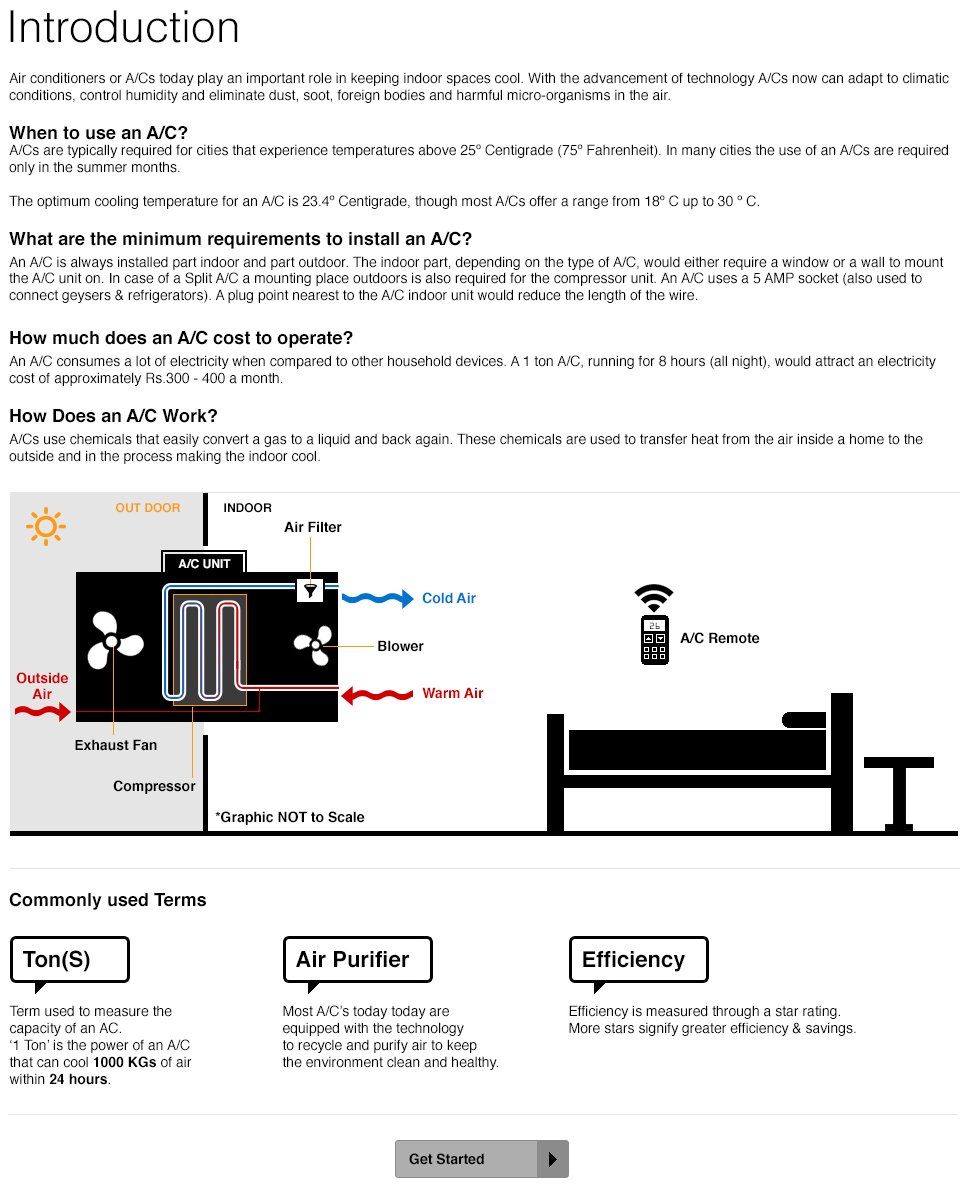 Air Conditioners - Introduction