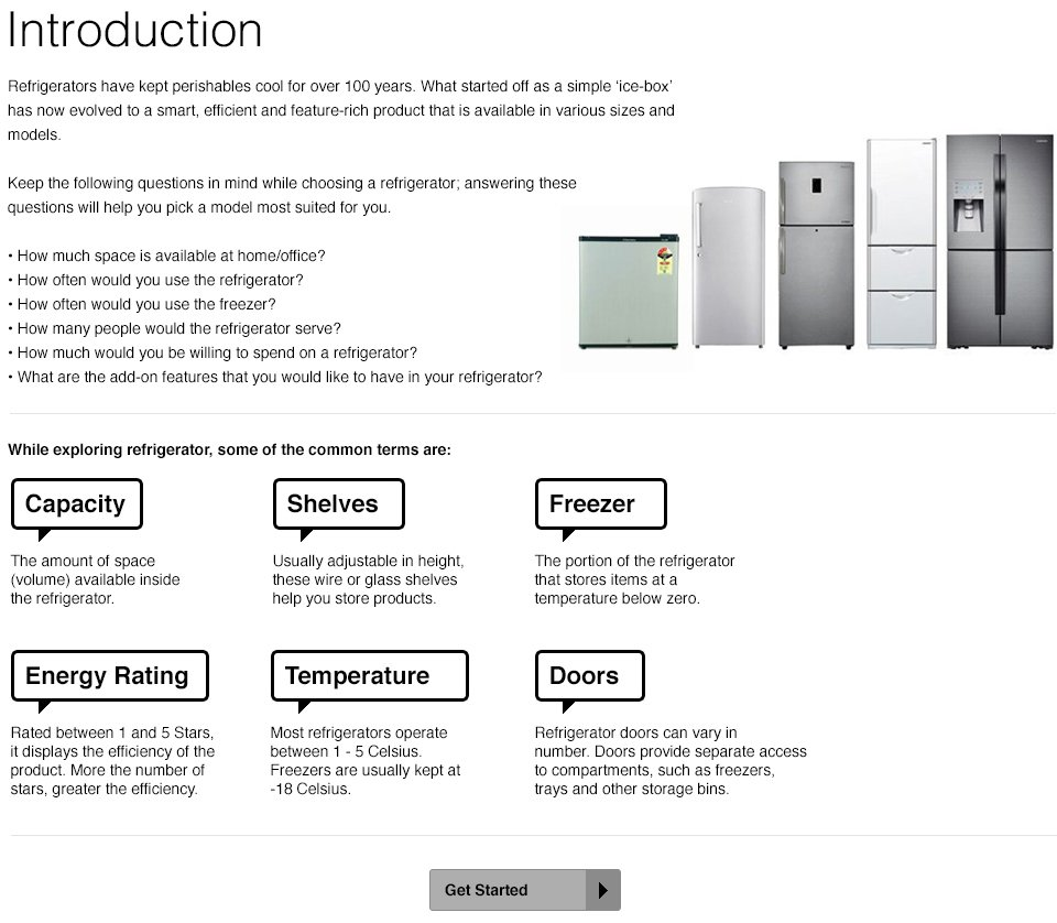 Refrigerators - Introduction