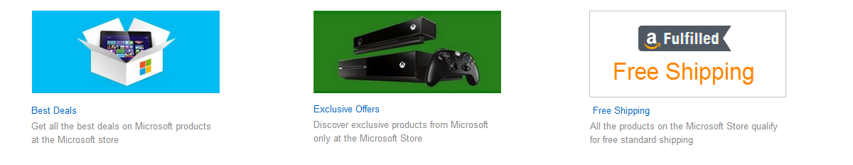 The Microsoft Store Difference; Student