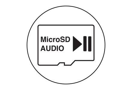 MicroSD AUDIO