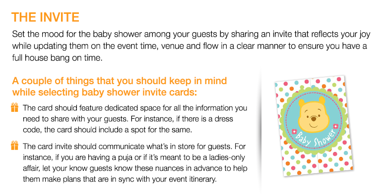 THE INVITE Set The Mood For The Baby Shower Among Your Guests By Sharing An  Invite