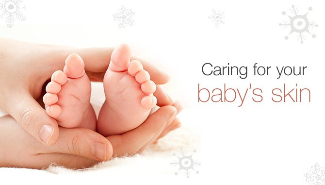 Caring for your baby's skin