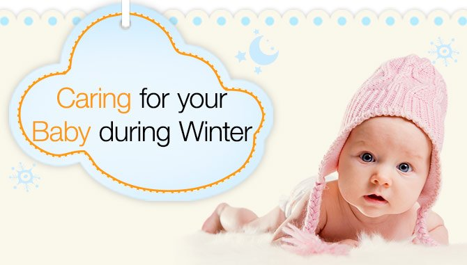Caring for your baby during winter