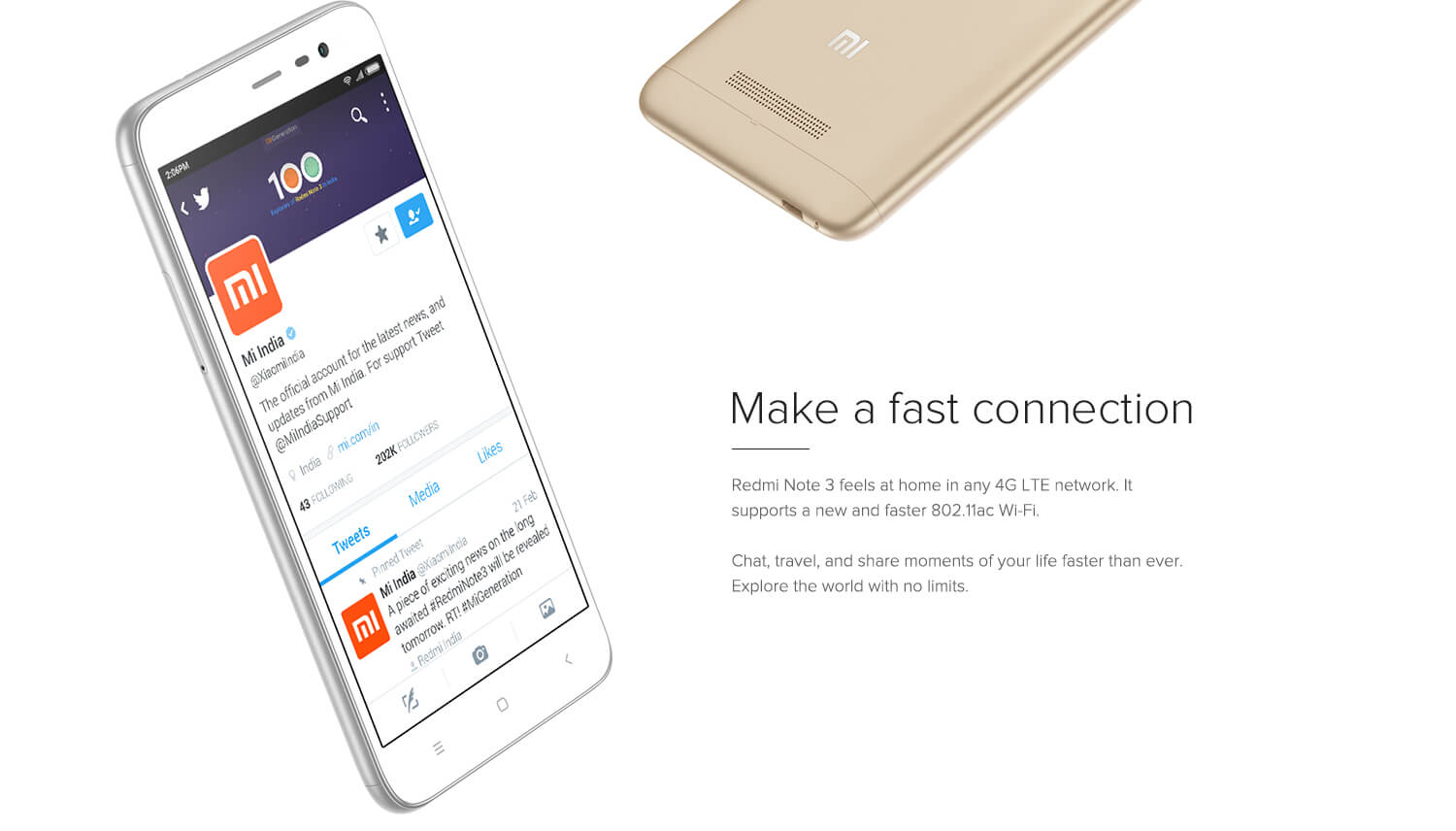 Redmi 4G network