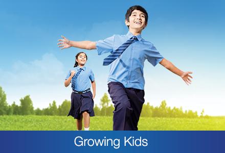 Growing kids