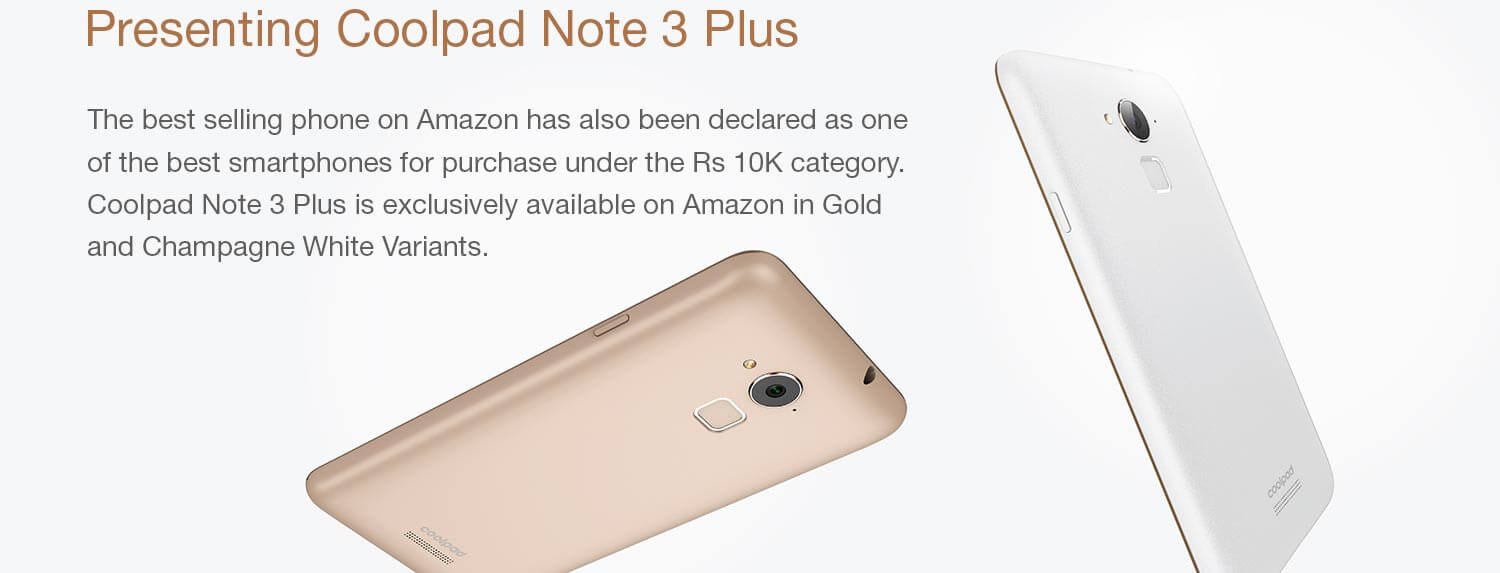 coolpad note 3 plus 1