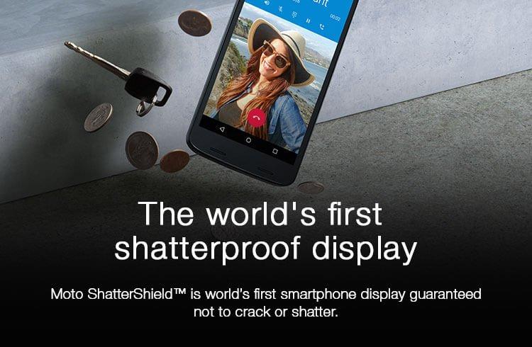 Shatterproof Display