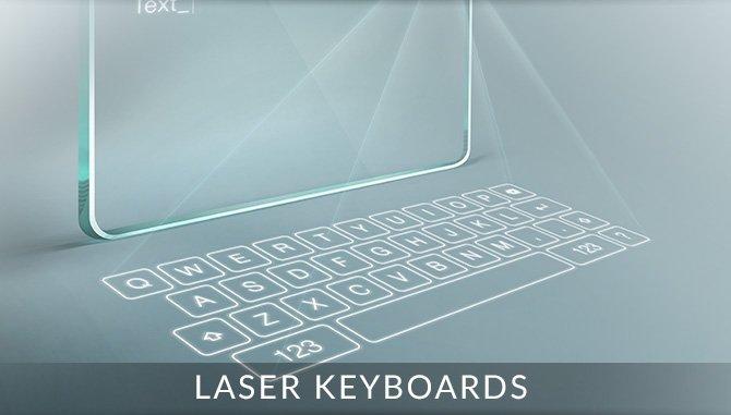 Laser Keyboards