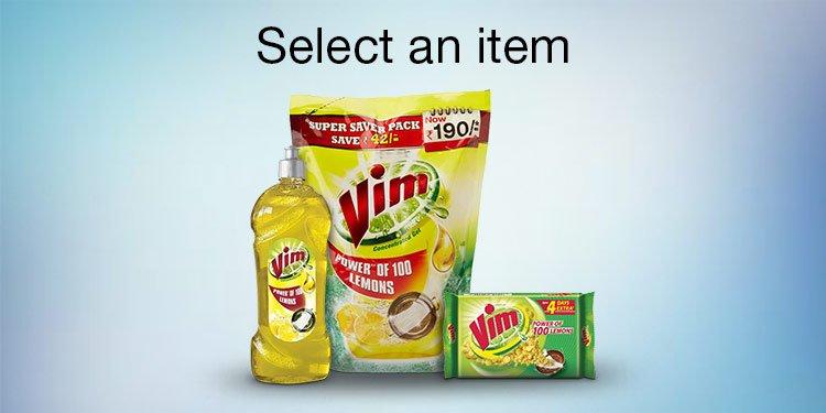 Select an item